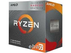 AMD Ryzen 3 3200G 4 Core CPU Processor 3.6GHz With Wraith Stealth Cooler