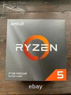 AMD Ryzen 3 3200g 3.5 GHz Quad-Core Processor (With AMD Wraith Stealth Cooler)
