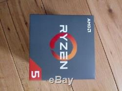 AMD Ryzen 5 2600X 3.6GHz Hexa Core AM4 Processor
