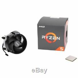 AMD Ryzen 5 2600 3.4GHz 6-Core AM4 Boxed Processor with Wraith Stealth Cooler