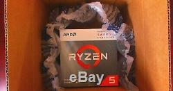 AMD Ryzen 5 3400G 3.7 GHz 4 Core With Wraith Spire Cooler Processor NEW SEALED