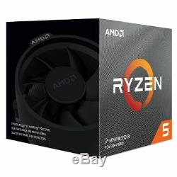 AMD Ryzen 5 3600X 3.8GHz 6 Core AM4 Boxed Processor with Wraith Spire Cooler