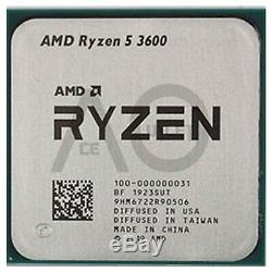 AMD Ryzen 5 3600 3.6GHz Hexa Core AM4 CPU Processor New Free Special Delivery