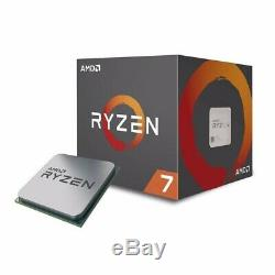 AMD Ryzen 7 2700X 4.3 GHz Eight Core CPU with optional wraith prism cooler